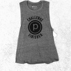 Pure Barre Challenge Finisher Tank Size Small